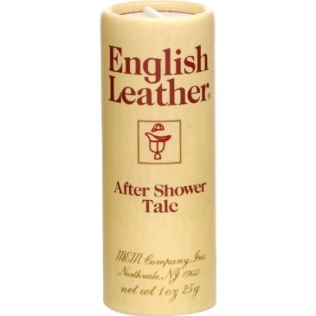ENGLISH LEATHER by Dana AFTER SHOWER TALC 1 OZ ENGLISH LEATHER by Dana AFTER SHOWER TALC 1 OZ
