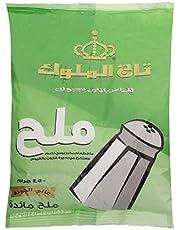 ملح طعام يودي ناعم من تاج الملوك - 450 جم