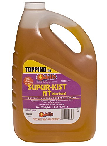 Odell's Supur-Kist Nt (NT) Buttery Flavored Popcorn Topping (6 - 1 Gallon)