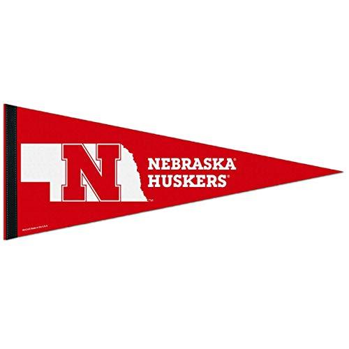 WinCraft Nebraska Cornhuskers NCAA 12X30 Premium Pennant - Team Color,