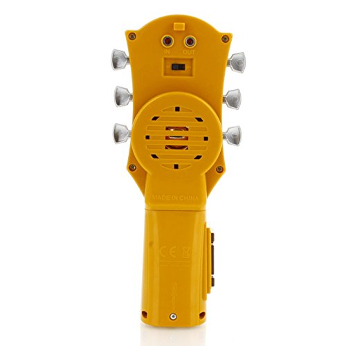 Mini Music Toy Guitarra de aire eléctrica con cuerdas de ...