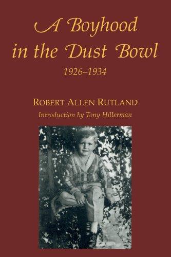 A Boyhood in the Dust Bowl 1926-1934