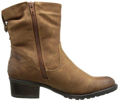 Rieker 93981 Braun horse Damen Stiefel 24 Cowboy vvOxnF