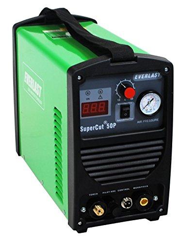 2015 Everlast SuperCut50 110v/220v Inverter plasma cutter 50