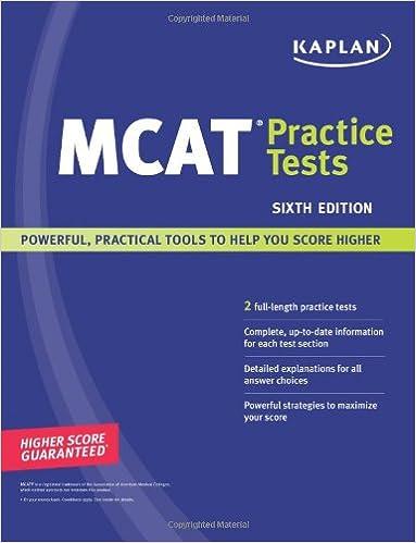 Kaplan MCAT Practice Tests: 9781419551956: Medicine & Health Science