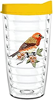 product image for Smile Drinkware USA-FINCH 16oz Tritan Insulated Tumbler With Lid and Straw