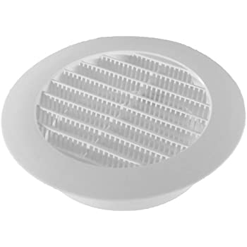 Speedi Products Sm Rwvd 5 Wall Vent Hood With Spring
