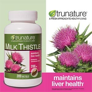 TruNature Milk Thistle 200 mg - 300 Softgels