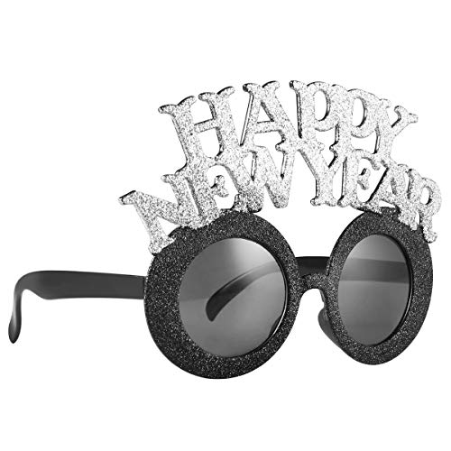 LUOEM Happy New Year Eyeglasses New Year Party