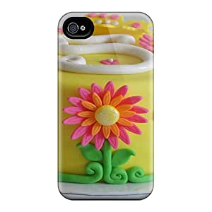 Brand New 6 Defender Cases For Iphone (pretty Flower Cake)