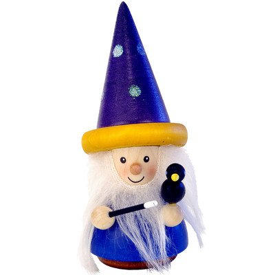 15-0308 - Christian Ulbricht Ornament - Wizard (No String) - 4''''H x 2''''W x 2''''D by Christian Ulbricht