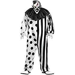 "Fun World Men's Killer Clown, Multi, Plus Size up to 6'2"" / 300 lbs"