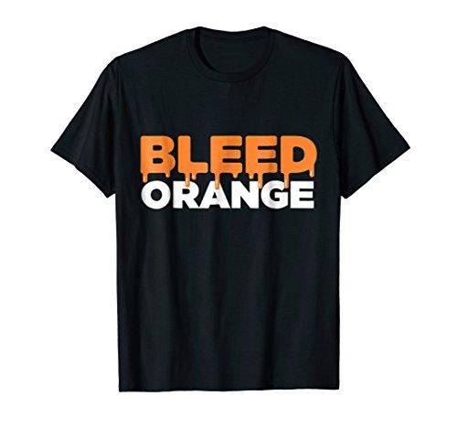Clemson Football Fan Bleed Orange Tigers Sports T-Shirt