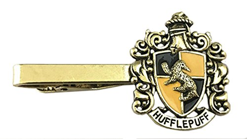 27afb51c755a Harry Potter Hufflepuff Crest Tie Bar Tieclip Books Movies Jewelry by  Superheroes Brand (Image #