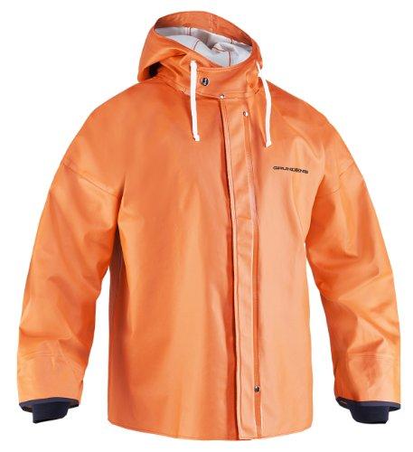 Grundens Brigg 44 Parka - Orange - Large