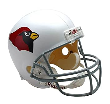a77d69a6 Riddell NFL Arizona Cardinals Deluxe Replica Football Helmet