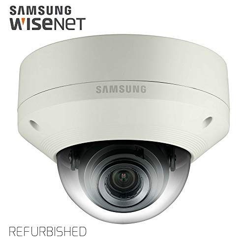 Samsung IPolis Wisenet POE IP Network 1080P 3.2MP Dome Camera Security Surveillance Outdoor Camera SNV-7084 for Home, Commercial Building Indoor and Outdoor (Manufacture Certified Refurbished)