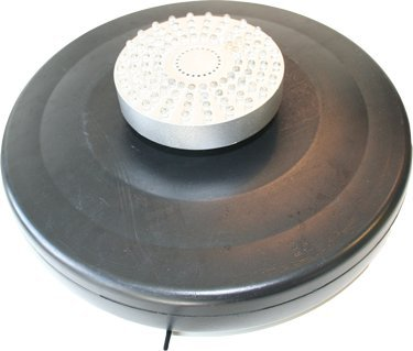ProEco Floating Fountain with White Light 500 GPH 40'' Nozzle display height by ProEco