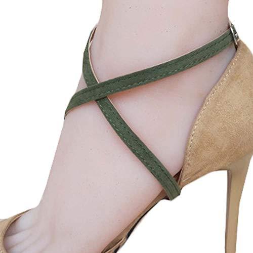 alti Accessori antiscivolo donna per B19 Wukong Paradise scarpe per da Accessori scarpe scarpe Cinture Tacchi per qI8IFnzY