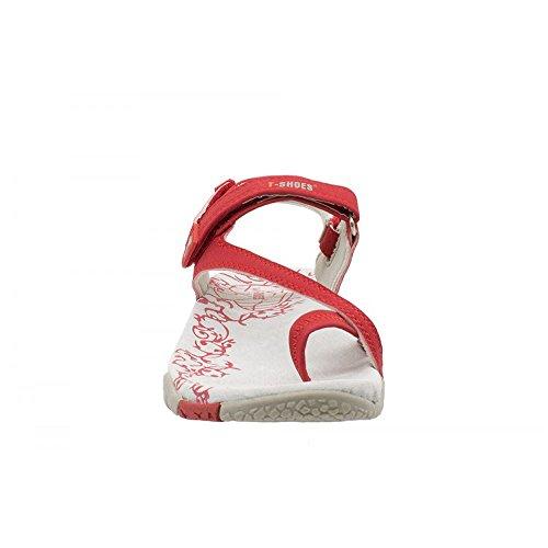 T-Shoes - Sandalias de vestir para mujer Rojo