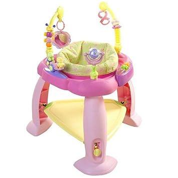 7d4536e80410 Amazon.com   Bright Starts Bounce Bounce Baby Activity Zone - Pink ...