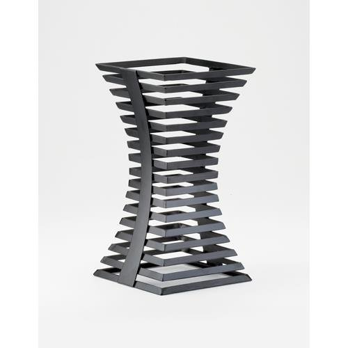 Cal-Mil 1465-15-13 Elevation Riser, 15'' Height, 8'' Width, 8'' Length, Black Steel by Cal Mil