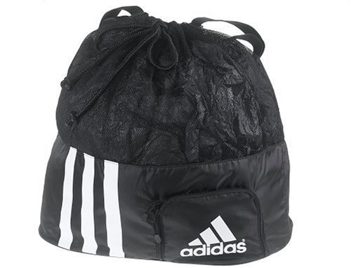 adidas Turnier Ball Ball Bag, schwarz/weiß, One Size