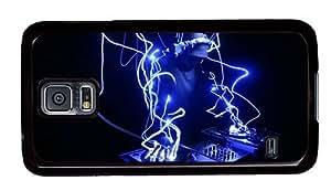 Hipster Samsung Galaxy S5 Case sale DJ Neon Lights PC Black for Samsung S5