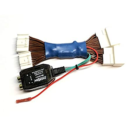 add an amp amplifier adapter interface to factory oem radio system for  subwoofer, etc