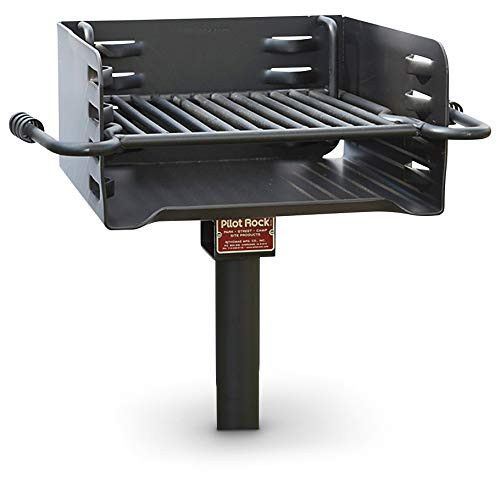 Commercial Grill Outdoor - Pilot Rock Heavy-Duty Park-Style Grill - Model# H-16 B6X2