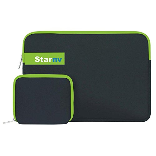 Star NV Bags 13 inch Expandable Sleeve/Slip Case with Charger Pouch nbsp; nbsp; nbsp; Black
