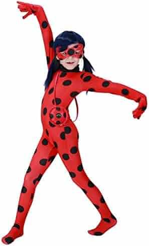 Da Mai Halloween Cosplay Ladybug Kid Costumes Chlid Little Beetle Suit