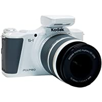 Kodak PIXPRO S-1 Compact System Digital Camera with 12-45mm Lens, 400mm Bonus Lens and 3
