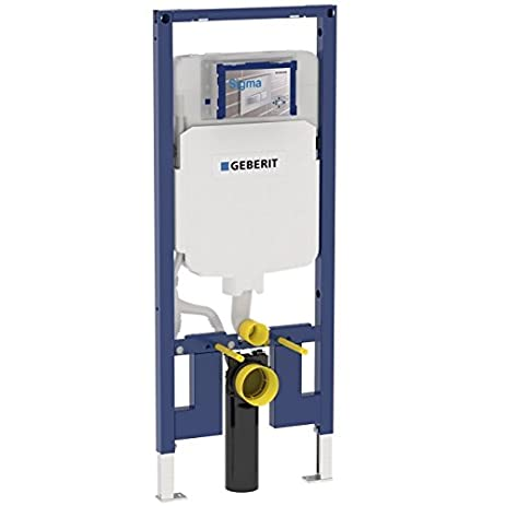 Geberit 111798001 Concealed Toilet Carrier Frame With Dual