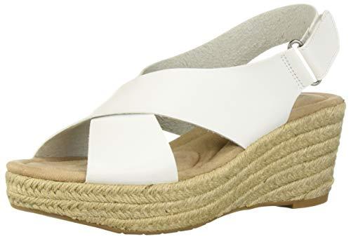 White espadrilles for women size 10