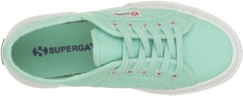 Superga 2750 Jcot Classic, Zapatillas Infantil Verde (C60 Pastel Green)