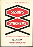 Sisson's Synonyms, A. F. Sisson, 0138106304