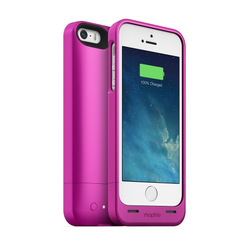 Mophie 2544_JPH-IP5-PNK-I Juice Pack Helium Case für Apple iPhone 5/5S pink