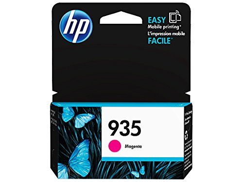 HP 935 Magenta Original Ink Cartridge (C2P21AN) for HP Officejet 6812 6815 HP Officejet Pro 6230 6830 6835