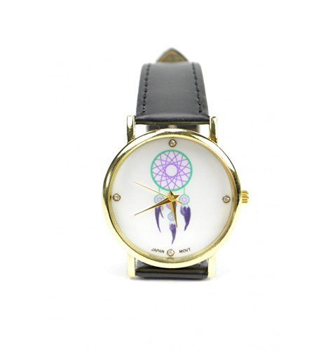 Reloj diseño Fantasía mujer Boho Chic Attrape Reves – Pulsera Negro