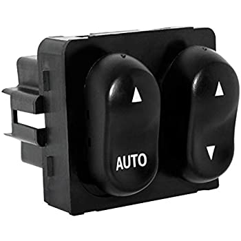 power master window switch compatible for 1999-2002 ford f150 f250 & 2002  ford lobo pickup cab - auto down control