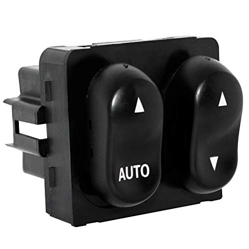 Power Master Window Switch Compatible for 1999-2002 Ford F150 F250 & 2002 Ford Lobo Pickup Cab - AUTO Down Control (1999 Ford F-250 Pickup)