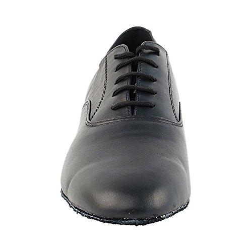 """50 Shades Of Men Standard 1 """"Heel Dance Kleid Schuhe Sammlung (Breite Breite verfügbar): Komfort Ballsaal, Standard, glatt, Latein, Salsa, Kunst von Party Party Breite Breite 919101 Schwarzes Leder"""
