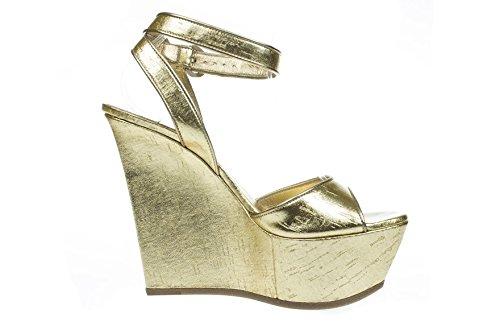 CASADEI Scarpe Donna L801 Pelle Oro