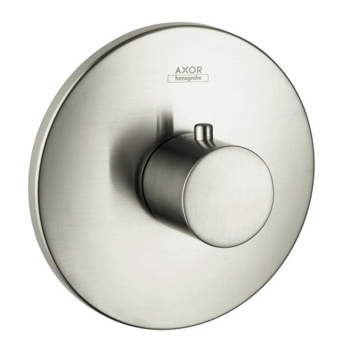 (Axor 38715821 Uno Thermostatic Valve Trim, Brushed Nickel)
