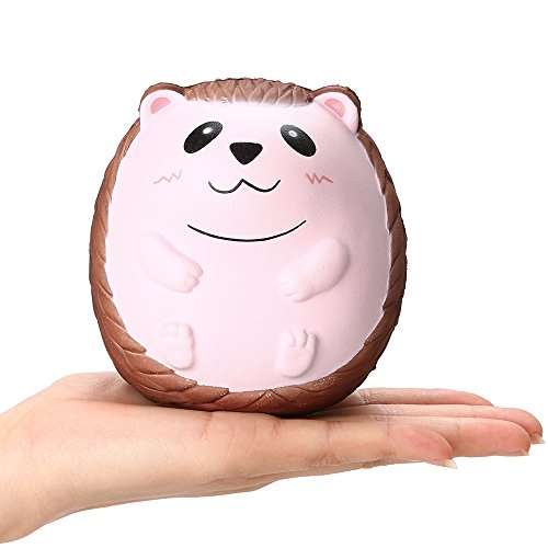 Euone  Squishy Toy, Squishy Cute Hedgehog Scented Charm Slow Rising Squeeze Stress Reliever Toy
