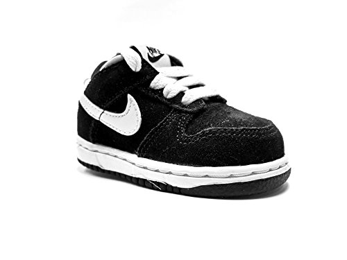 Pictures of Nike Little Dunk Low (TD) Black/White 887223747277 (6c) 7