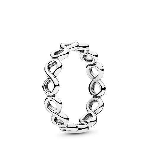 PANDORA Infinite Shine Ring, Sterling Silver, Size 7