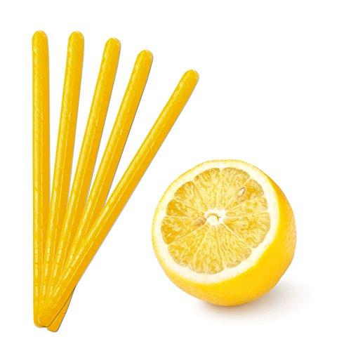 Kencraft Candy Sticks - Yellow Lemon Candy Sticks