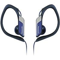 Panasonic Sports Clip Earbud Headphones RP-HS34-A (Blue)...